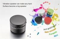 New Version Mini Vibro speaker, portable Mobile speaker ,Might dwarf speaker 5W with 2GB TF card
