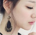 Min.order is $15 (mix order)  earrings black color R3388