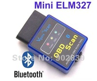 Hot sale V1.5 Mini ELM327 OBDII OBD-II OBD2 Interface Bluetooth Auto Diagnostic Scanner CE0003 free shipping