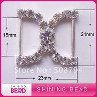 15mm inner bar rhinestone buckles for wedding invitation card,free shipping,new design rhinestone buckles for invitation card