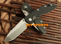 HINDERER XM-18, D2 knfe, 60-62 HRC, titanium alloy, real leather sheath, G10,tactical knife+Free shipping(SKUJAV010530)