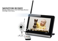 "7"" Remote Control Wireless Baby Monitor+night vision camera"