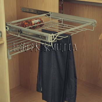 Chest adjustable Rail Trousers rack,pants rack,600,arduous Weight type,MJ8027,Factroy wholesale&retail