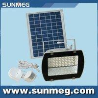 Saving Energy Green Product 5W  LED  Solar PIR Sensor Flood Light