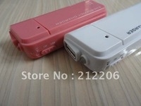 DHL,300pcs NO Package,AA Battery Emergency Charger with torch for iphone 4&amp;3G 3GS IPOD,USB emergency charger freeshipping