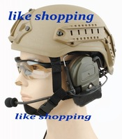Tactical Paintball game  Helmet w/ NVG mount and Side Rail  free shipping
