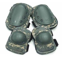 Skateboard Paintball Digital ACU Camo Knee & Elbow Pads free ship
