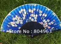 [China Confucian]Free Shipping 10pcs of hight 100% silk fan,folding fan,craft fan,hand held bamboo fan