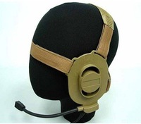 Element Airsoft Gear SWAT ELITE II Tactical Headset Tan free ship