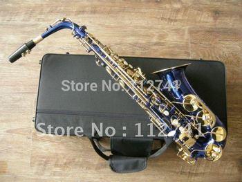 Wholesale -  High New Advanced Falmous XG Alto Bule Saxophone