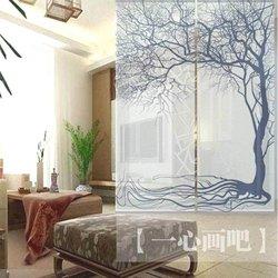 Opknoping gordijnen ruimteverdelers kamer schermen gedrukte schilderijen schilderen - Kamer gordijnen kind ...