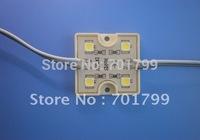 4 Leds SMD5050 Led Module; white color;led module