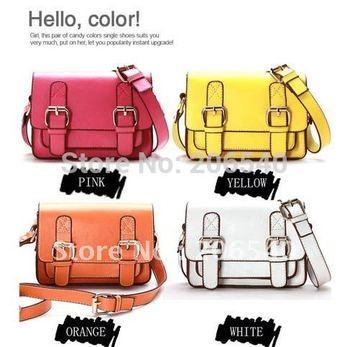 Free shipping College Satchel Messenger Briefcase Mini Shoulder Bag