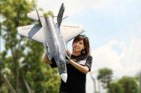ARF(Kit)  Version  /  RC F-35 jet plane with  70mm EDF / This ARF(Kit)  Version without motor and without any equipment