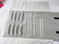FREE SHIPPING Jewelry display jewelry roll of multi item travel roll