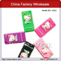 Free shipping , creative cartoon hello kitty usb flash drive ,usb hard drive ,silicon usb ,2G4G8G16G32G for option