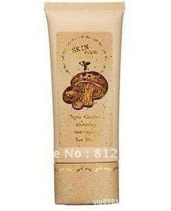 Free Shipping 100% Quality Guarantee SKIN FOOD Mushroom Multi -Care BB Cream SPF20 PA+/ Skin Care Cream 50g 6pcs/lot