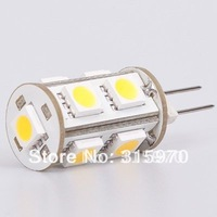 9LED G6.35 Led Bulb Lamp Dimmable 1.8W 5050SMD 12VDC 150LM White Replace The Halogen 20W Speed Free Shipment
