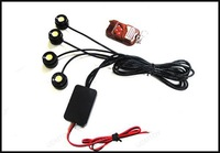 4*1.5W Strobe Flash Eagle Eye Light Led Car Reversing Light Backup Light tail Stop Daytime Running Light IP68