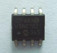PIC12F683T-I/SN MICROCHIP SOP8 8-Pin Flash-Based, 8-Bit CMOS Microcontrollers with nanoWatt Technology