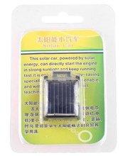 Free shipping Promotion Mini Solar Power Amazing Toy Car For Kids Solar Panel Solar Energy Car Toy(China (Mainland))