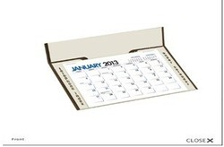 Promotional Desk Calendars for Travel Agents wholesale,Desk Calendar with turning out company name on imprint area- HMTK-0001(China (Mainland))
