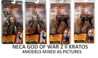 "Free shipping  NECA GOD OF WAR 2 II KRATOS IN ARES ARMOR W/BLADES 7"" Action Figure 4models mixed"