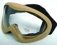 US Airsoft X400 Wind Dust Tactical Goggle Glasses Sand free ship
