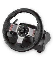 twin-engine force feedback Logitech gaming steering wheel genuine