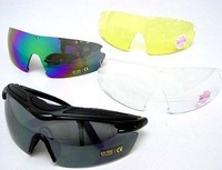 Guarder C7 Tactical Shooting Glasses with 4 Set UV Lens free ship