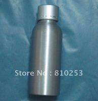 Custom Aluminum skin care bottles With screw cap 50ML