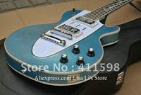 Custom Shop 1960 Corvette guitar blue metallic music electric guitar free shipping