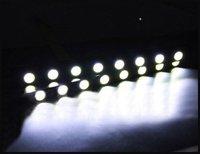 Wholesale 3pair 170mm x 15mm x18mm 8W Mini 8LED Daytime Running Lights  Fog Light Driving Light Eagle Eye Lights 12V