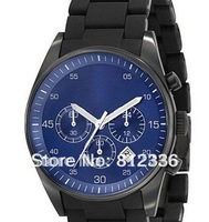 Hot Sell Free Shipping chronograph  Silicon mens Watch With Original box And Certificate AR5921