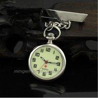 Luminous Nurse/Doctor/Caregiver Pocket Pin Brooch Clip Watch