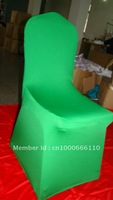 Free Shipping green spandex chair cover/Wedding chair cover