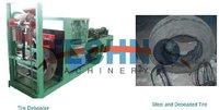 Машина по переработки резины TECHNO  TEC500