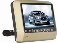 free shipping!2pcs(a pair)9inch car dvd player with game for headrest ,touch buttons control