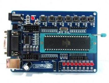2pcs New Development Board Kit for ATMEL AVR Atmega16 Mega16