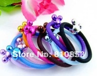 Free Shipping Candy colors Headwear rope,Elastic Hair band,color mix hair accessories Christmas Gift wholesale Lc-01-279