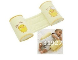 2012 free shipping New Cute Baby Toddler Safe Cotton Anti Roll Pillow Sleep Head Positioner wholesell & retail(China (Mainland))