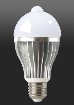 5W LED Human body induction bulb,60*125mm,10pcs 5630 smd led