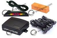 12V ultrasonic waterproof reverse sensor -Parking sensor no holes need to be drilled Buzzer Parking Sensor 02C