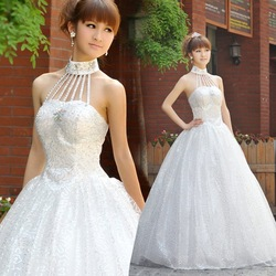 Free shipping best selling 100% 2012 wedding princess train suzhou wedding dress bridal wear China fashion Suppliers(China (Mainland))