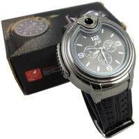 20piece/lot New Fashion Novelty Quartz Wrist Watch With Batane Lighter Refills NIB & Free Shipping magic