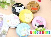 New cute cartoon animals designs contact lenses box & case /  lens Companion box / Wholesale