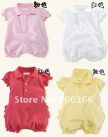 newborn baby clothes/ infant dresses /babies brand clothings/100%COTTON+FREE SHIPPING