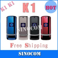Free Shipping 100% Original unlocked K1 mobile phone ,k1 cell phone (accept droppshipping)