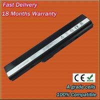 For ASUS A32-K52 A42-K52 A31-K52 A42-N82 battery A52 K42 K52 series laptop battery