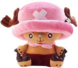 Candice guo! Hot sale plush toy doll one piece Priates of the World cute doctor Chopper good for gift 30cm 1pc(China (Mainland))
